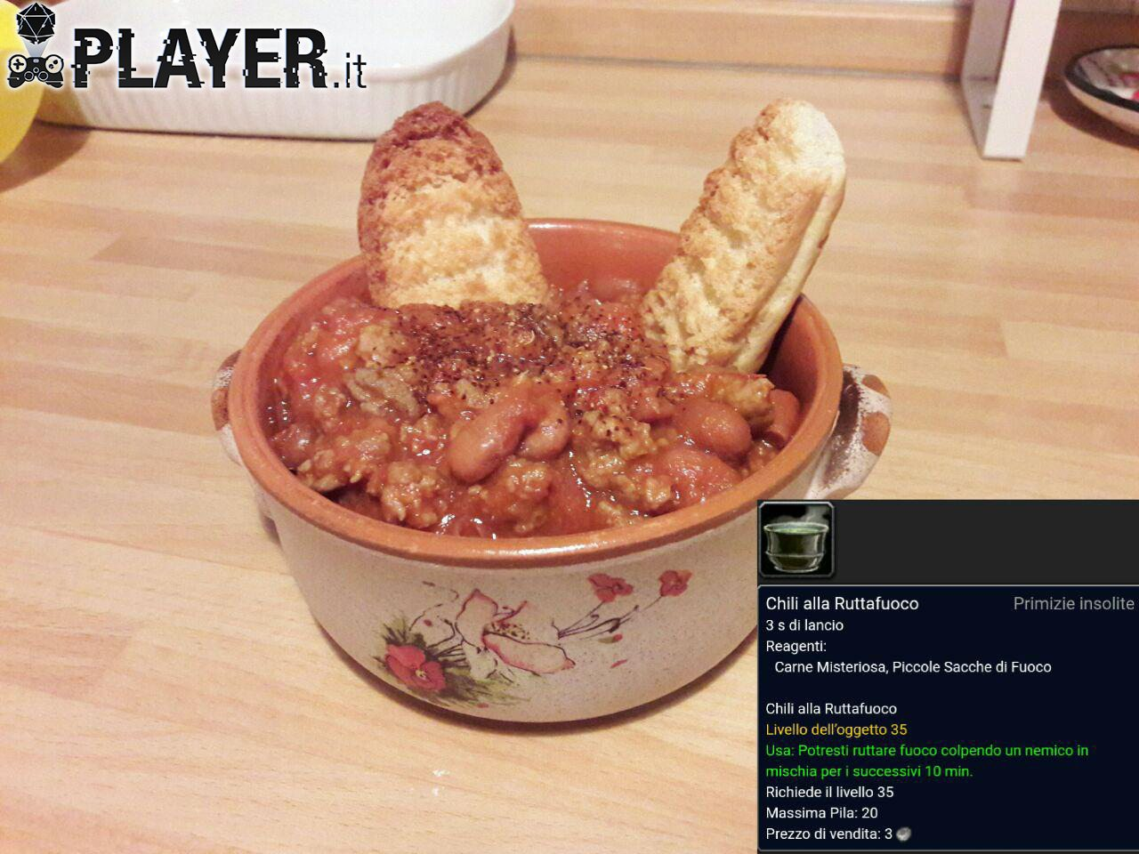 richetta chilli alla ruttafuoco di world of warcraft