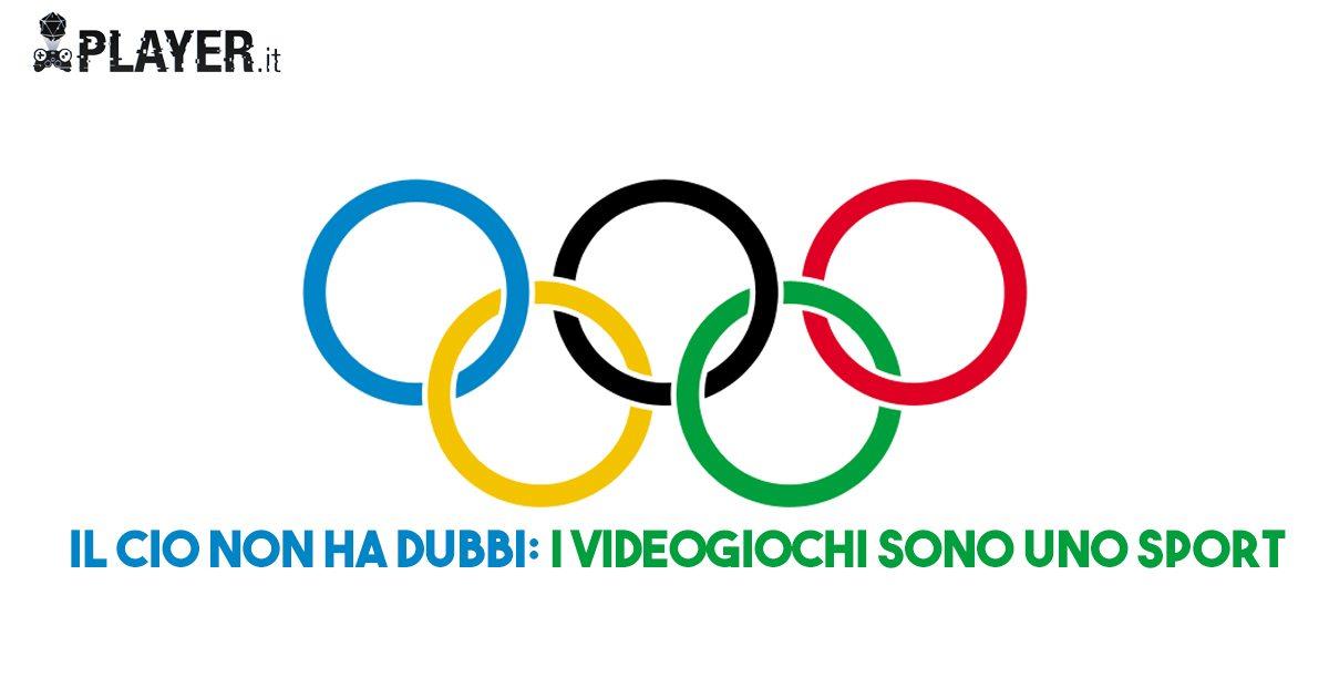 Comitato Olimpico: ''Gli e-sports sono delle vere e proprie attività sportive''