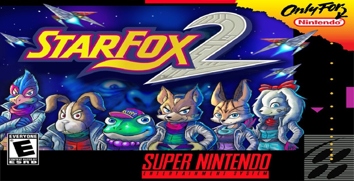 star fox 2 cartucce di contrabbando