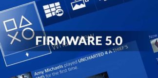 playstation 4 firmware 5.0 disponibile