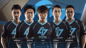 LCS 2018 team counter logic gaming
