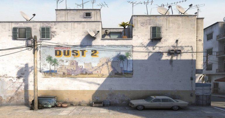 dust 2 mappa counter strike