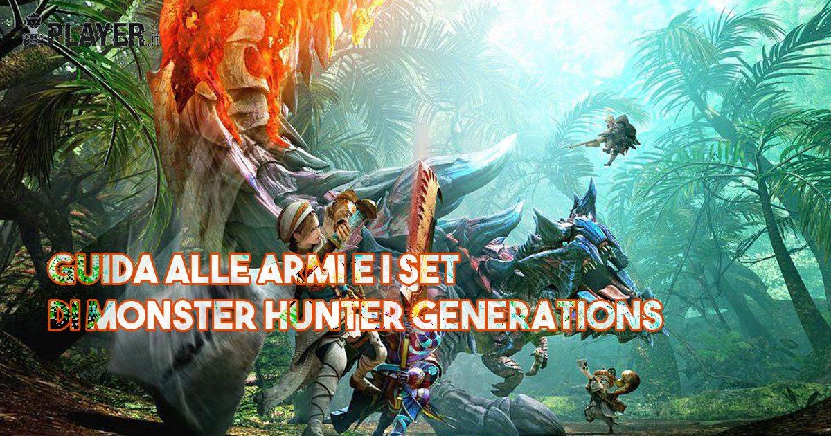 monster hunter armi