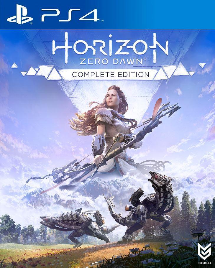 Horizon Zero Dawn complete edition box art