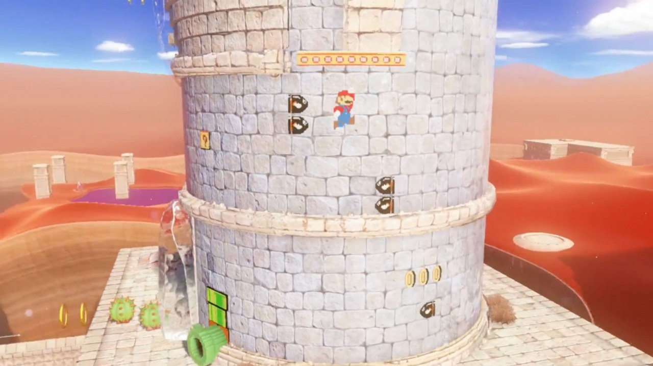super mario odyssey a link between worlds