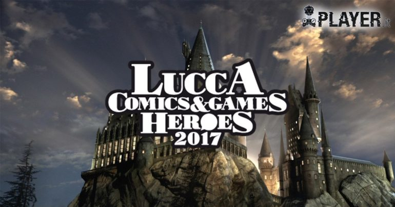 lucca comics and games hogwarts harry potter