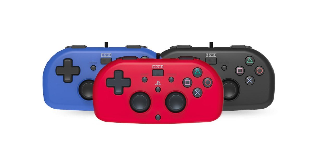 Sony e Hori presentano il nuovo Mini Wired Gamepad per PlayStation 4