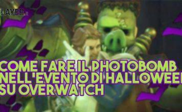 Come fare il photobomb nell'evento di Halloween su Overwatch