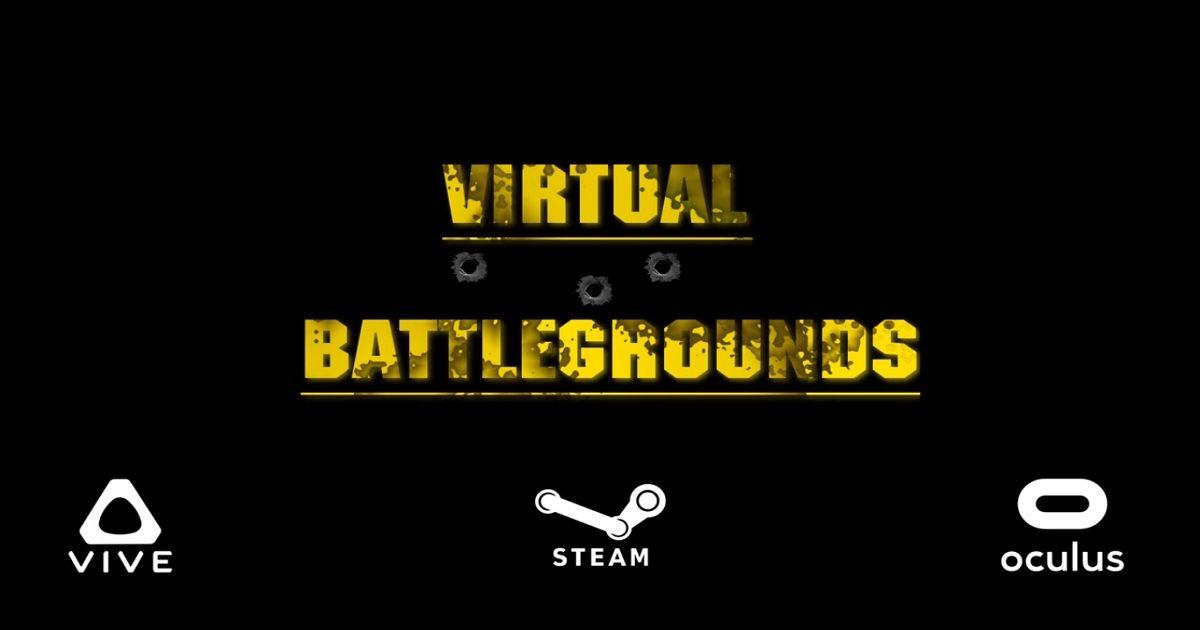 PUBG VR battle royale