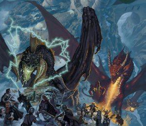D&D 5 scontro con draghi