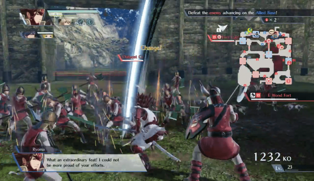 Recensione Fire Emblem Warriors Gameplay