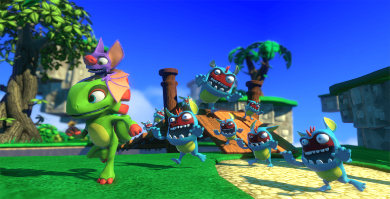 Arriva l'action figure ufficiale dedicata a Yooka-Laylee
