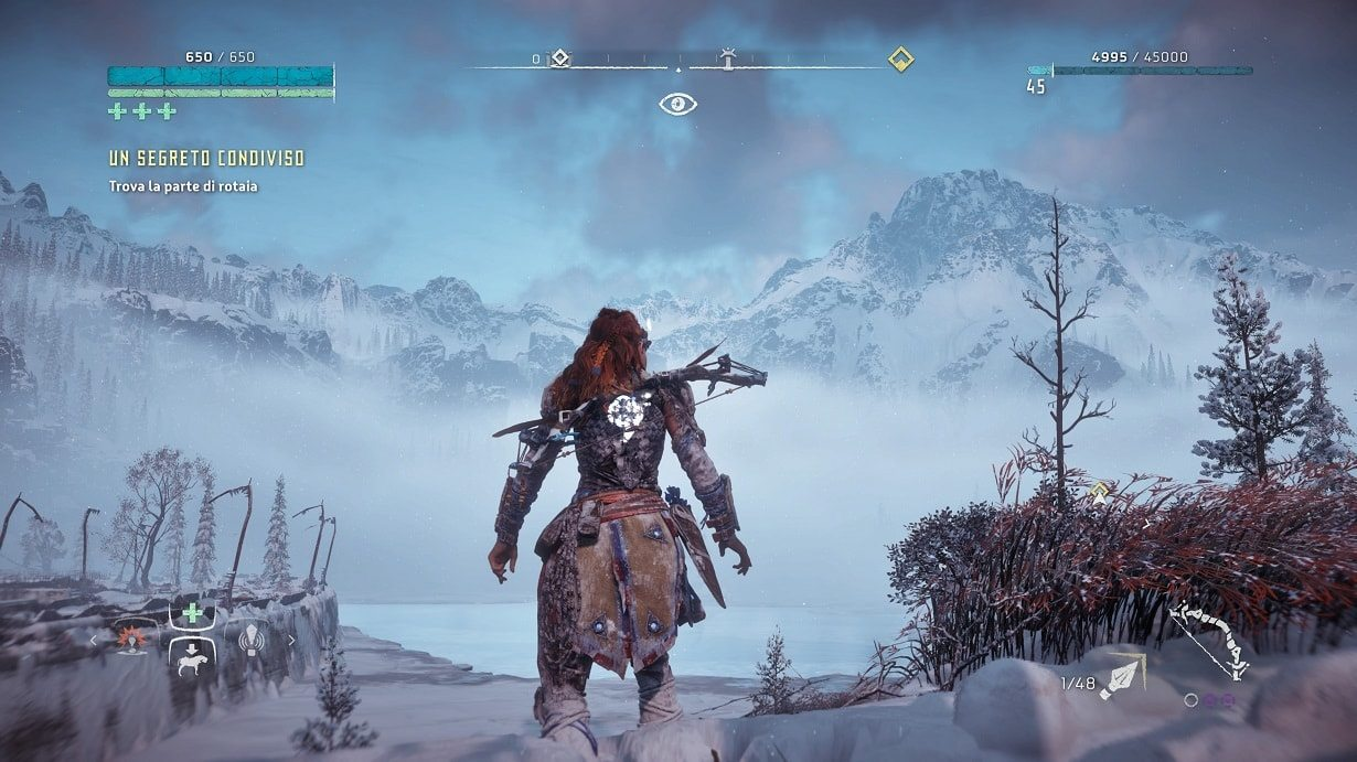 the frozen wilds horizon