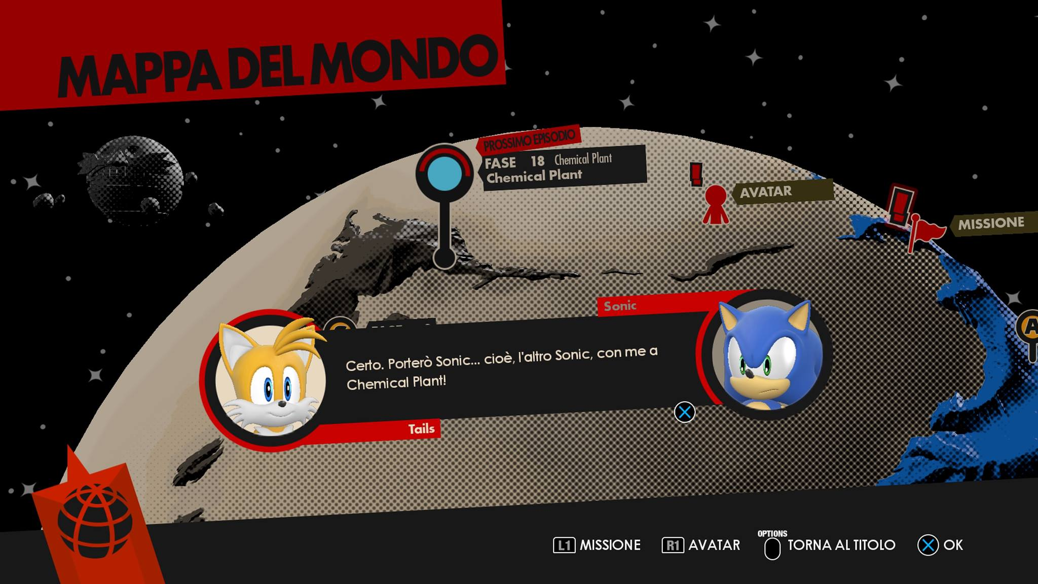sonic forces mappa