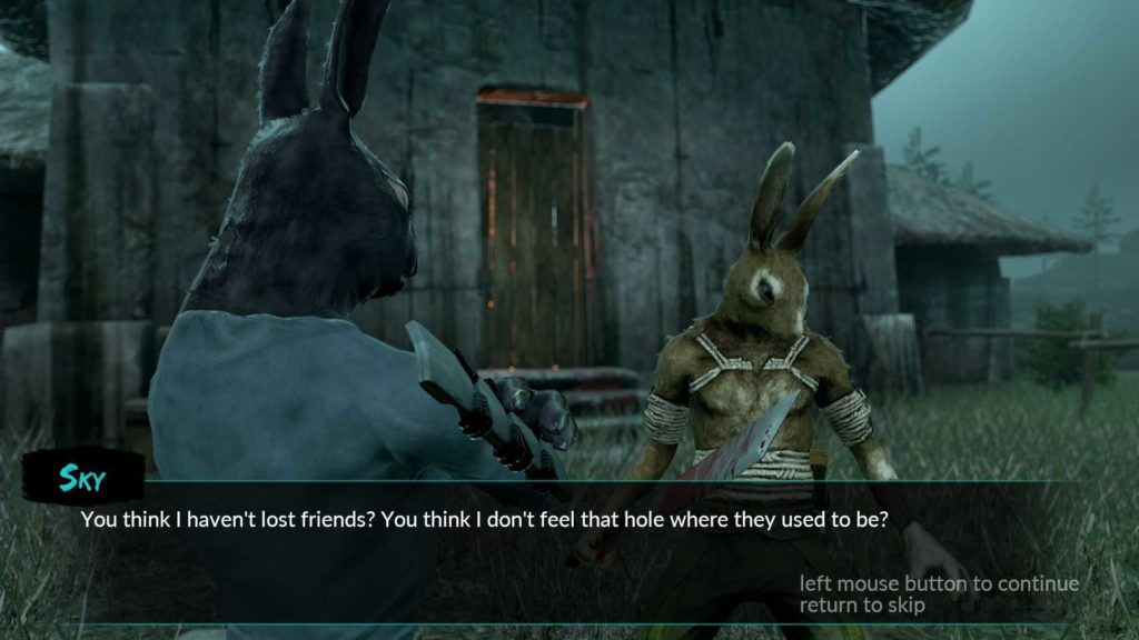 Overgrowth dialogue