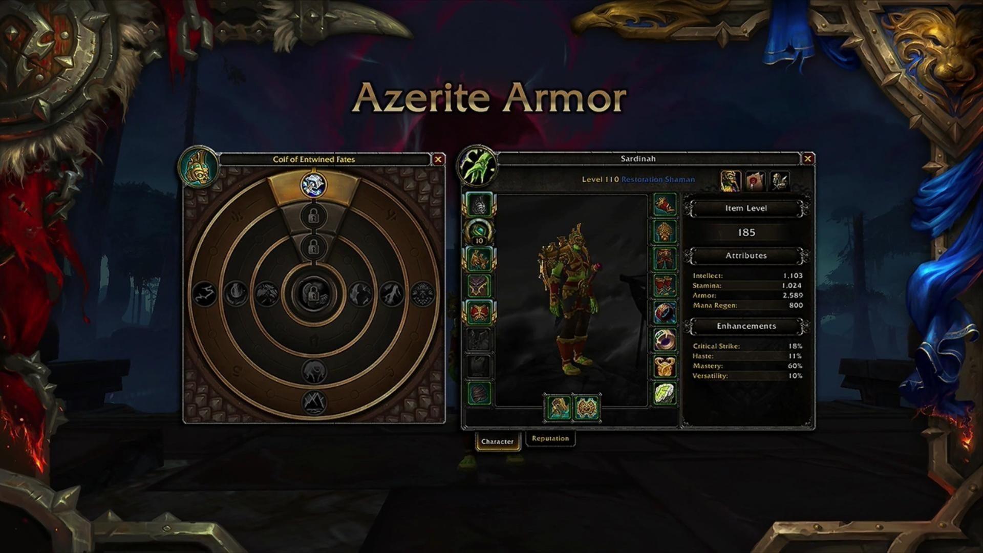 azerite armor