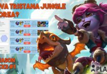 Nuova Tristana Jungle in Corea - Giungla -Op - Corean - Pick - Picks - Preseason - Rework - Rune - tristana