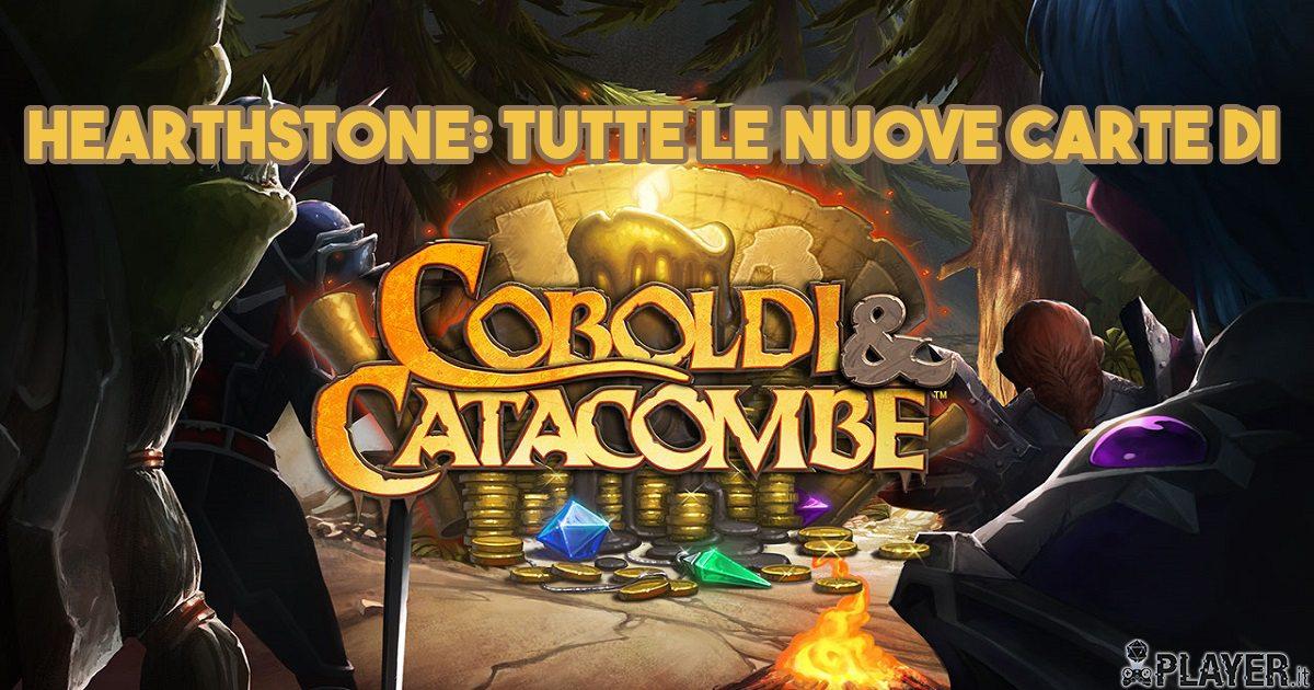 Hearthstone: Tutte le nuove carte di Coboldi e Catacombe