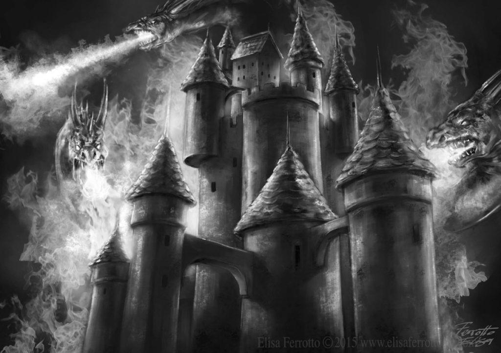 Paese dei Balocchi - castello del buio