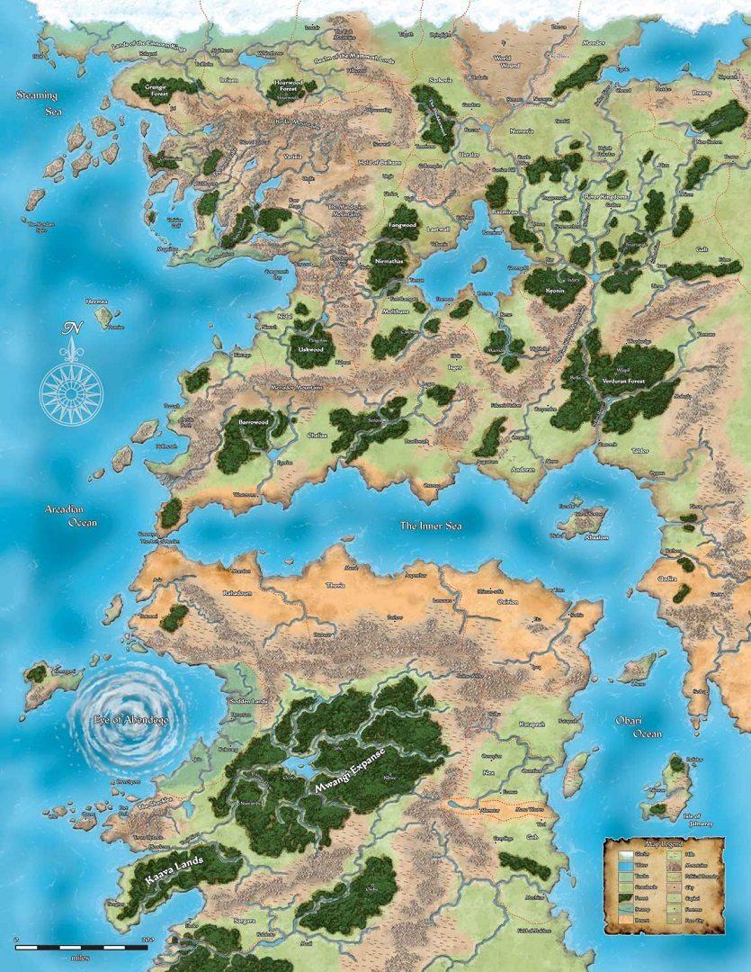 Pathfinder - Mappa