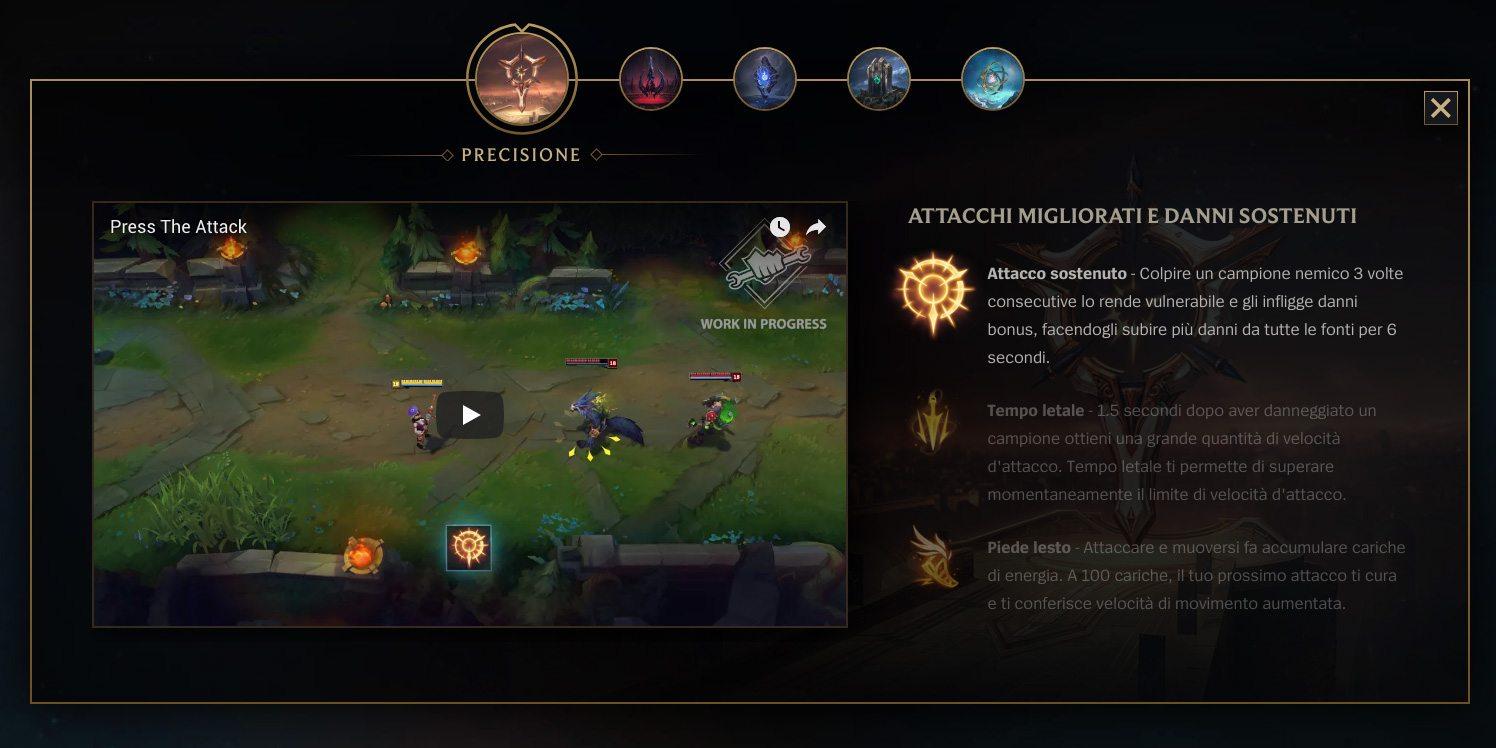 Rune - Rework - Pre- Season- Precision