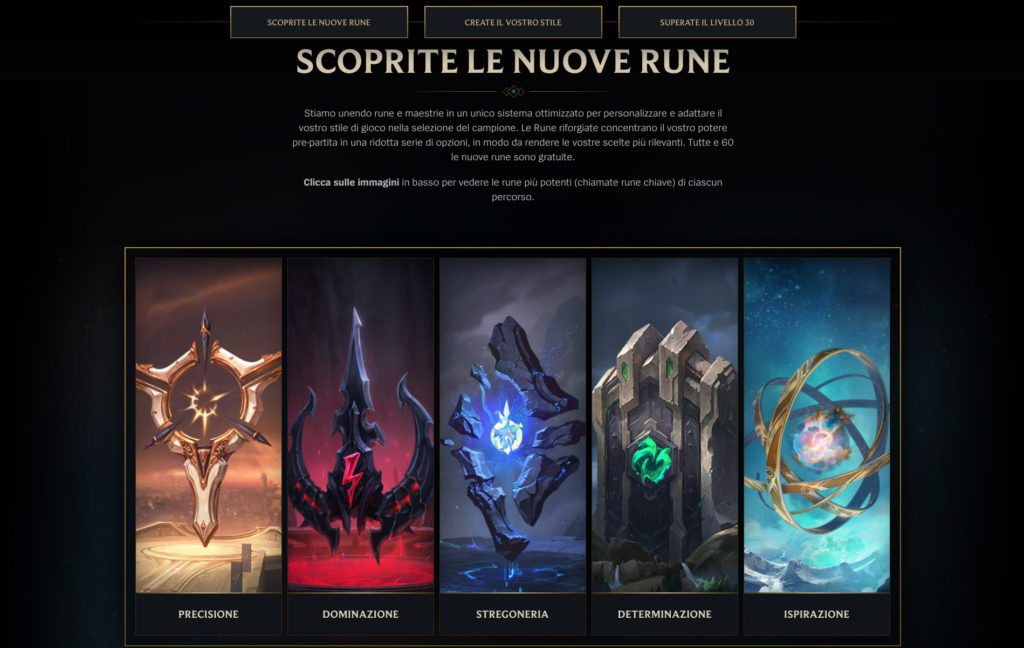 Rune Reforged Rework Runes League of Legends Pre-Season 8