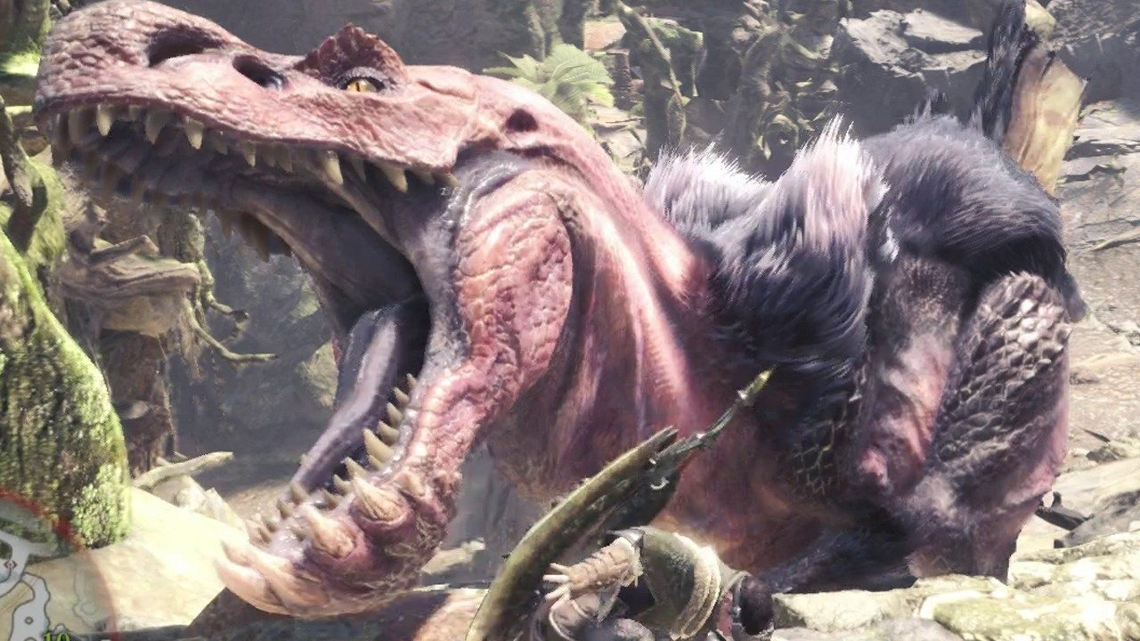 monster hunter world Anjanath
