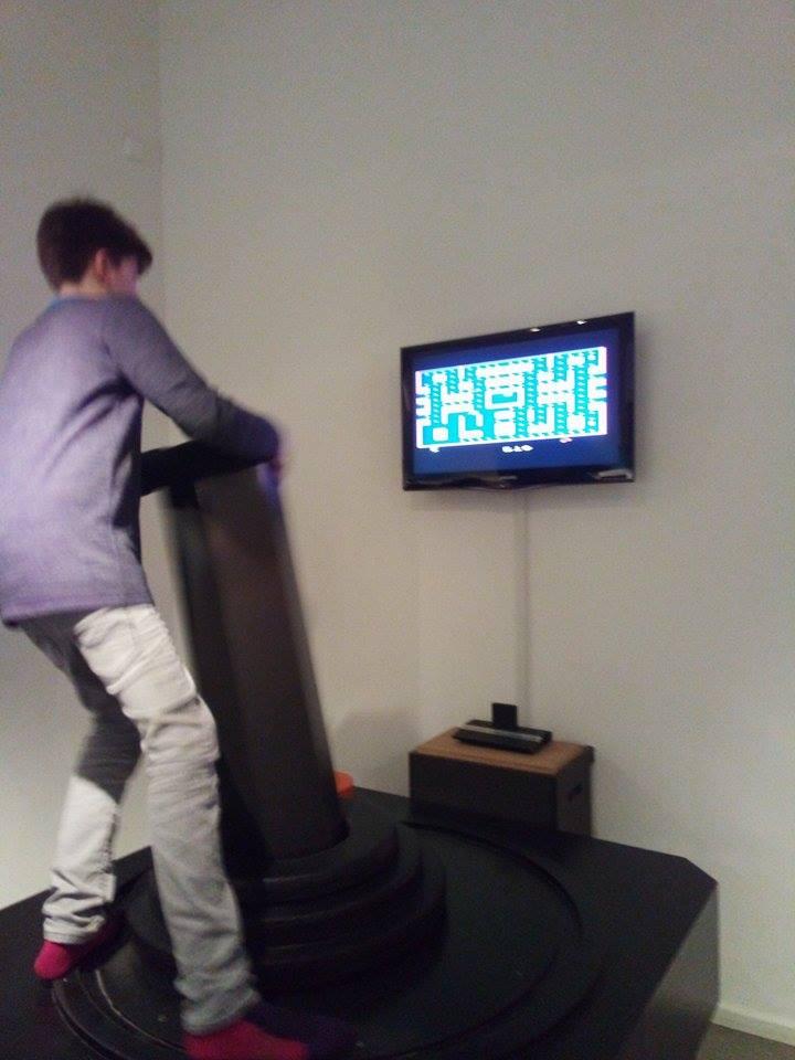 Computerspielemuseum Berlin pacman atari 2600