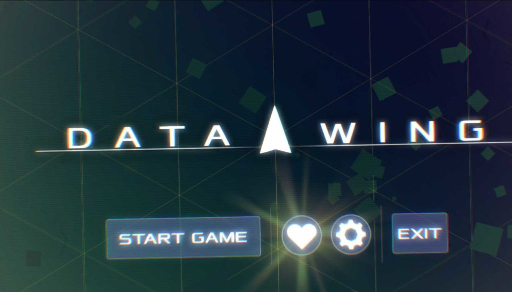 Data Wing Main Menu