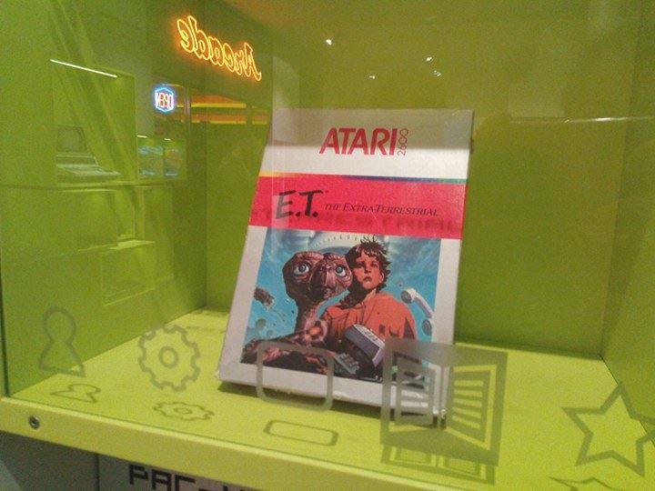 Computerspielemuseum Berlin E.t. atari 2600