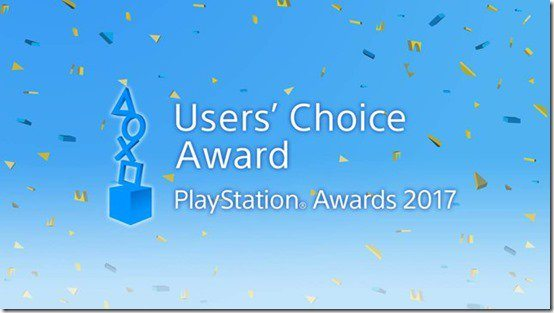 playstation awards 2017 user