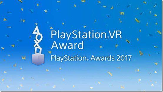 playstation awards vr