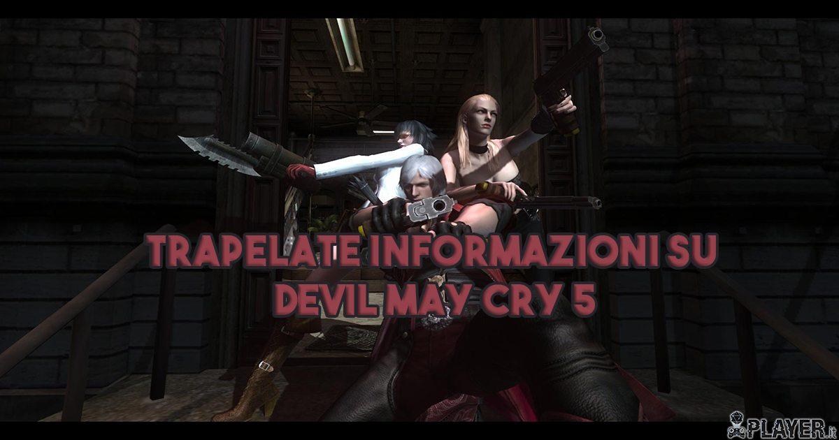 In arrivo il quinto capitolo della serie Devil May Cry?