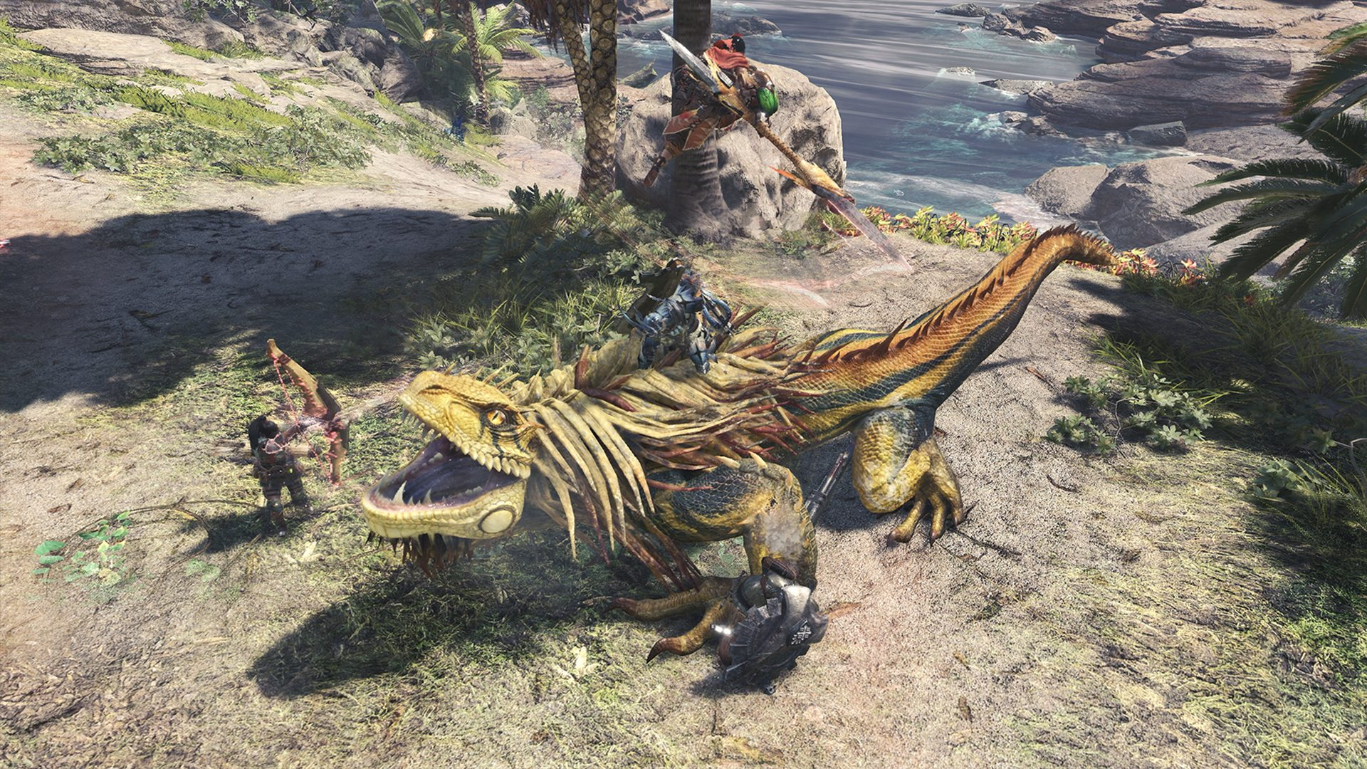 monster hunter world jagras