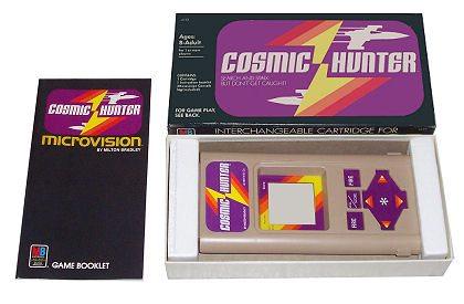 nintendo microvision cosmic hunter