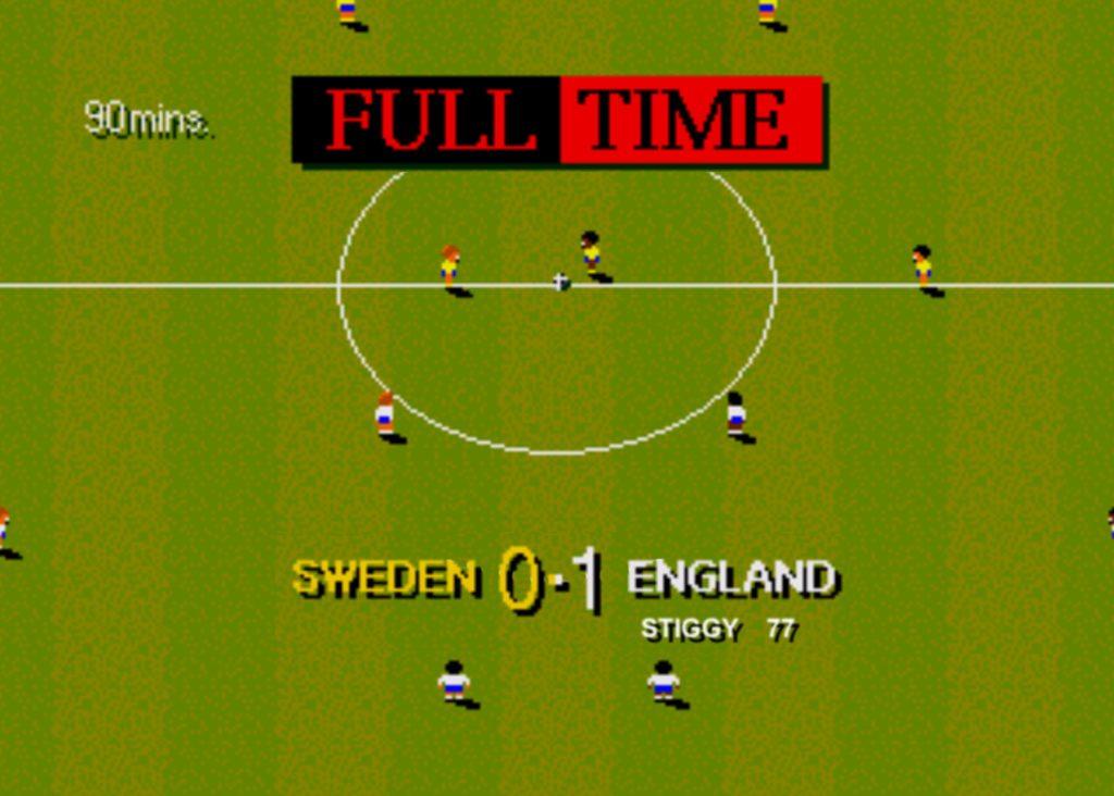 Sensible Soccer punteggio