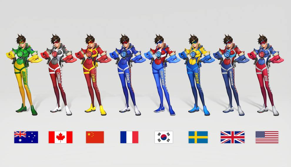 uniformi overwatch world cup