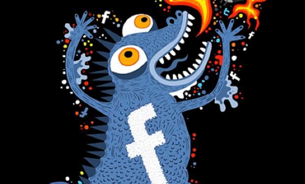 Facebook monster