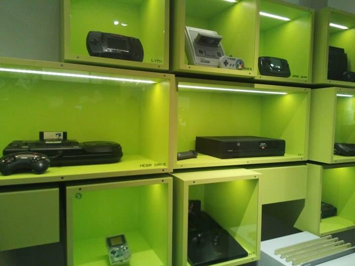 Computerspielemuseum Berlin display