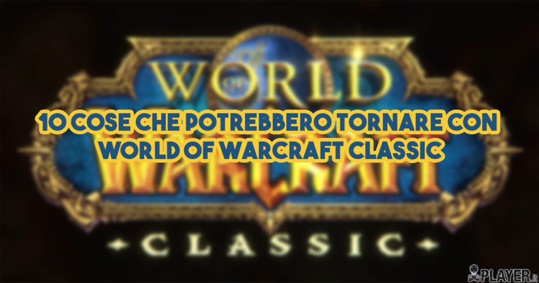world of warcraft classic