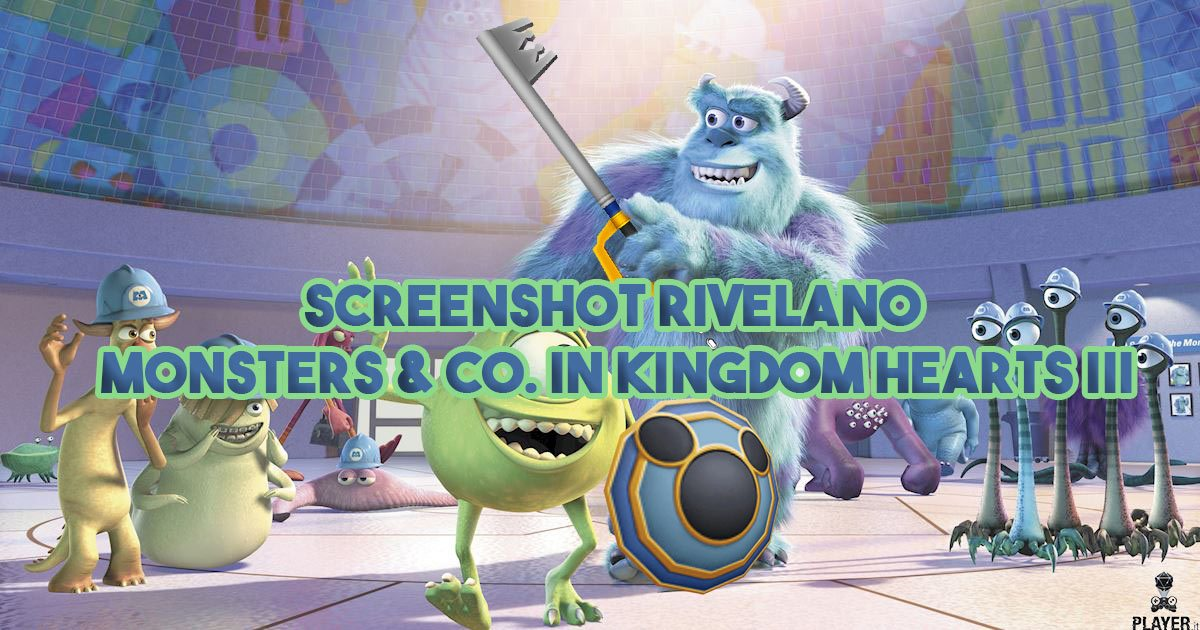 Screenshot rivelano Monsters & Co. in Kingdom Hearts III
