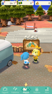 Animal Crossing Pocket Camp Campeggio