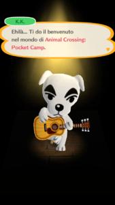 Animal Crossing Pocket Camp K.K.