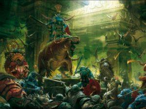 Warhammer uomini lucertola