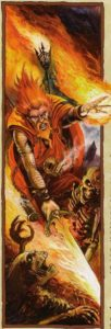 Warhammer mago fuoco