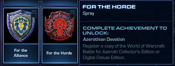 starcraft II wow collector