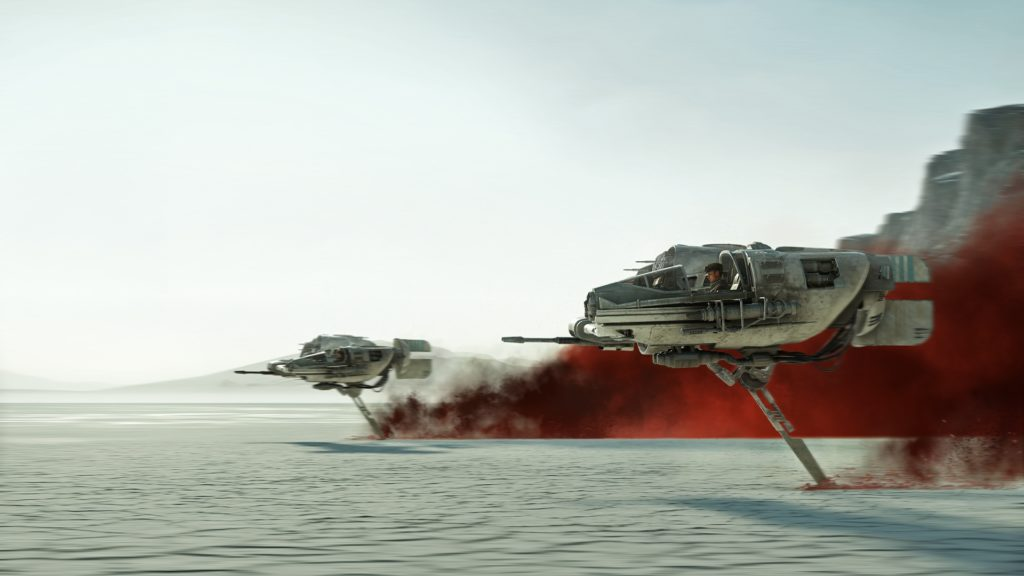 Guida a Crait star wars battaglia