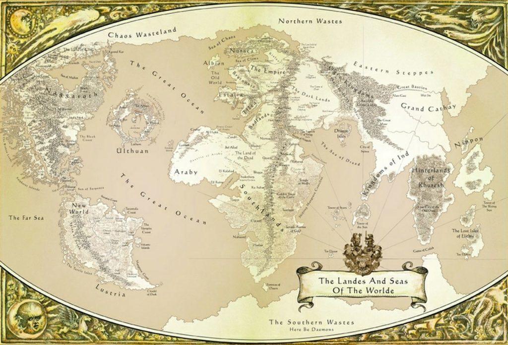 Warhammer mappa