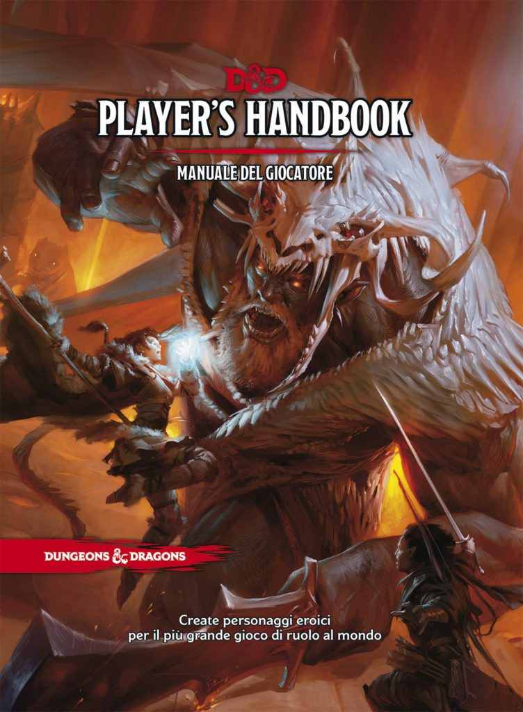 Dungeons and Dragons 5 a Edizione Manuale del Giocatore