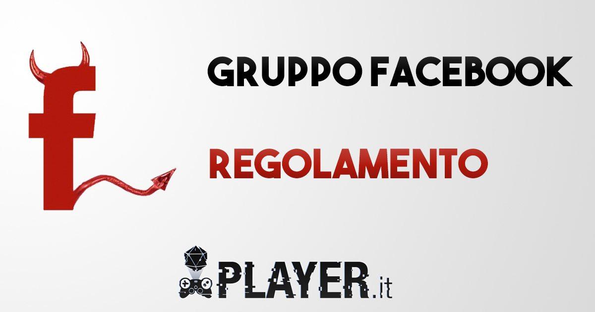 regolamento facebook